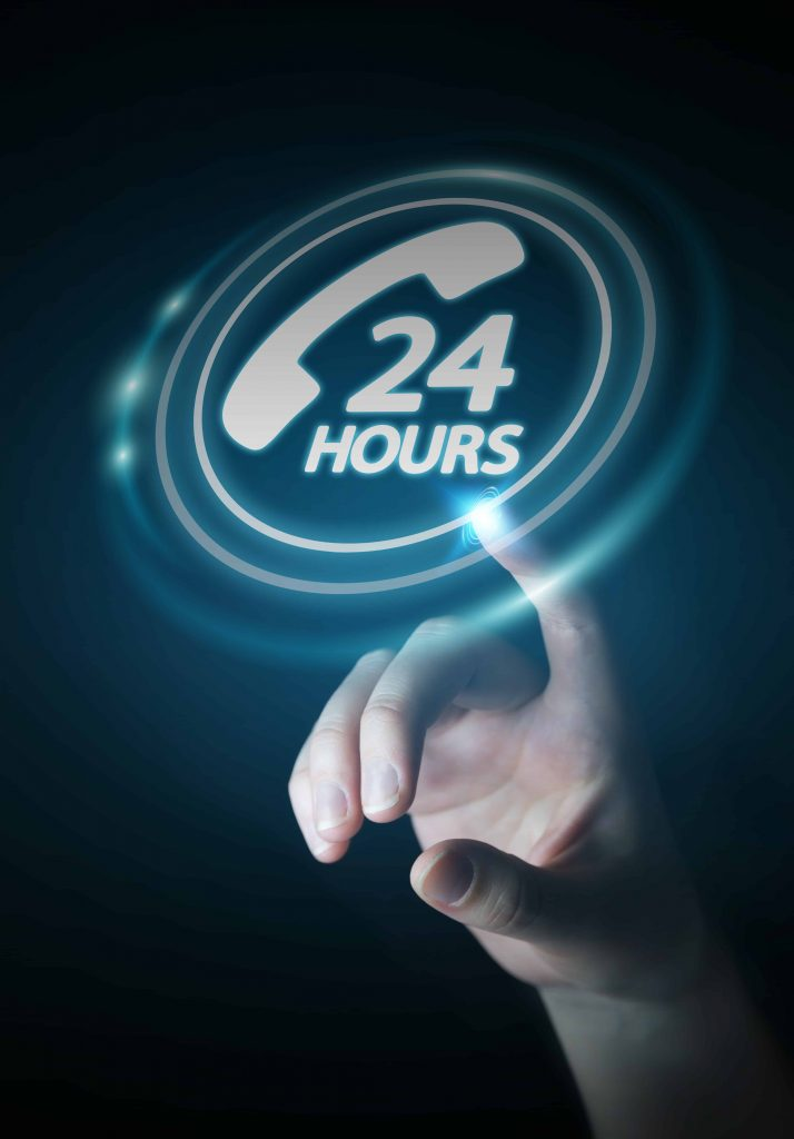 Website 24 Stunden erreichbar